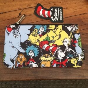 Dr. Seuss Zip Top Case With ALL the greats! NWT!